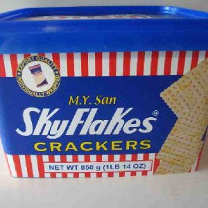 850 gms of Sky Flakes in plastic Tub