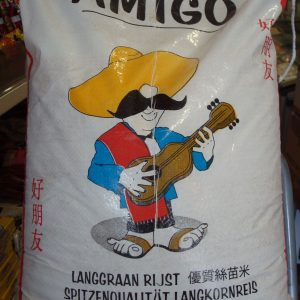 Amigo Whole grain Rice 20kg.