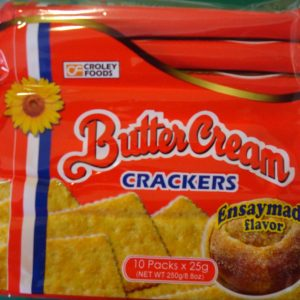 Butter Cream Crackers – Ensaymada Flavour