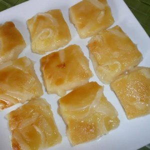 Cassava with Macapuno. Made to special order.