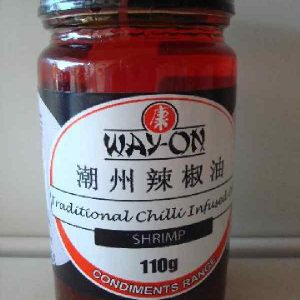 Chilli Infused shrimp oil