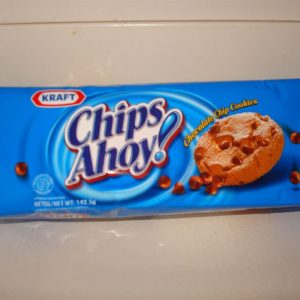 Chips-Ahoy chocolate chip cookies