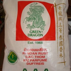 Green Dragon Pandan Rice 10kg.