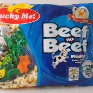 Lucky Me Beef Flavoured Noodles