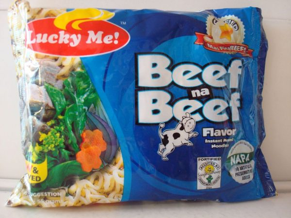 Lucky Me Noodles Beef na Beef 3Pcs