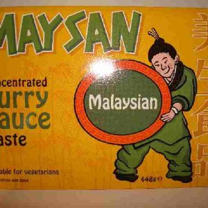 MAYSAN Malaysian curry sauce paste