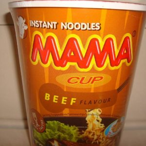 Mama Beef Flavoured  cup noodles