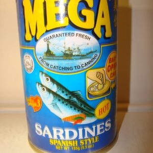 Mega Sardines Spanish Style in Tin Hot