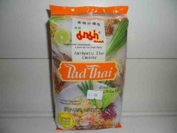 Pad Thai Noodles 150g. With sauce inside. (2 in 1)