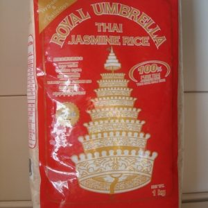 Royal Umbrella Jasmine Rice 1kg.
