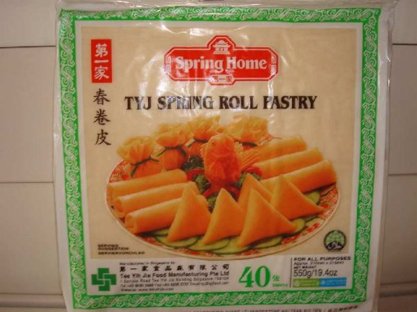 Spring Roll Pastry 40 Sheets