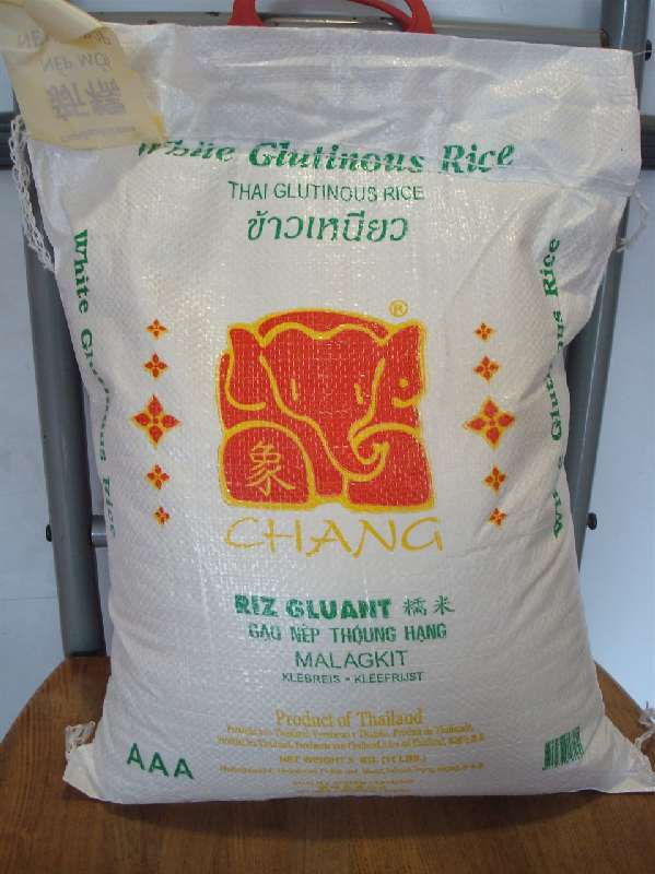 Thai Chang Malagkit. Whole Grain Glutinous Rice 5kg