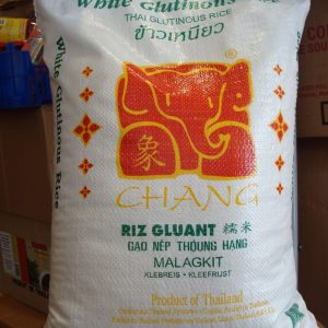 Thai Chang White Glutinous Rice 10kg.