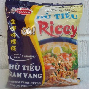 Phnom Penh Flavour Noodles( Minced Pork  with Egg ) Oh Ricey Ace Cook