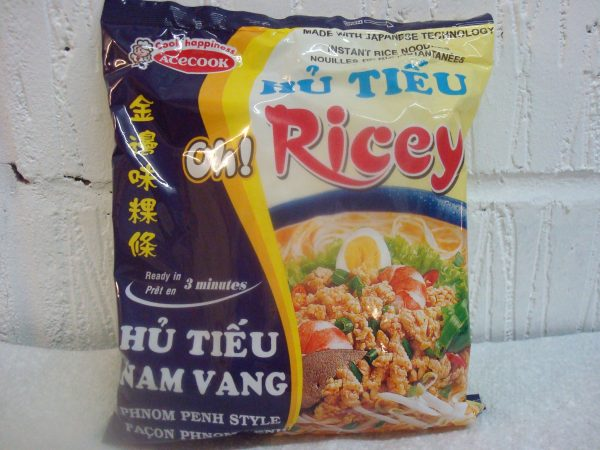 AceCook Oh Ricey Minced Pork Flavour Noodles
