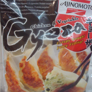 Chicken & Vegetables Gyoza Dumplings, Ajinomoto Brand 1kg