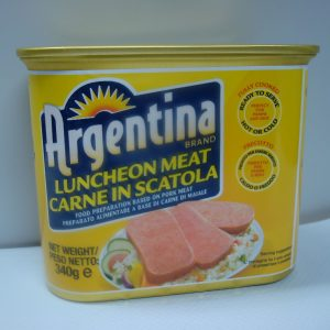 Argentina Luncheon Meat.