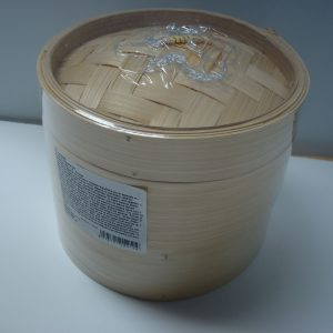 Bamboo Steamer Set (2x 6″Steamers + 1 Lid) NEW Addition