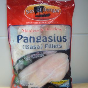 Bay of Bengal Pangasius Fillets Frozen 1kg