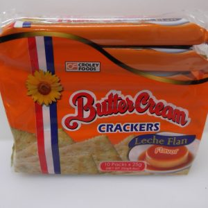 Butter Cream Cracker Leche Plan Flavor