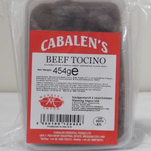 Cabalens Beef Tocino. Sweet cured Beef. NEW