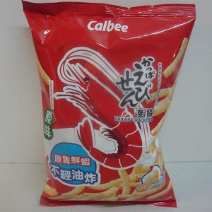 Calbee Prawn Crackers Original