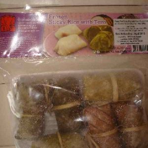 Chang Sticky Rice cake with Taro
