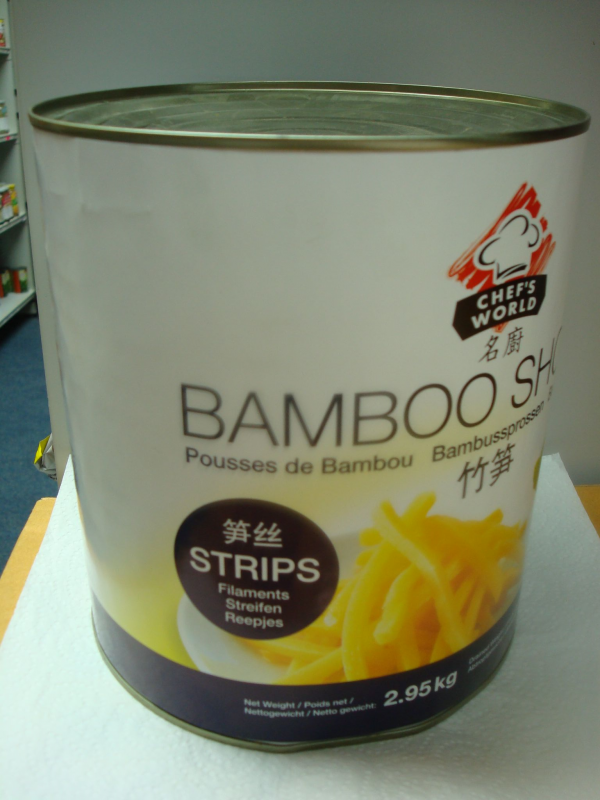 Chef's Bamboo Strips 2.5kg.
