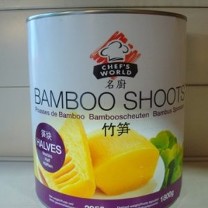 Chef's brand  Bamboo Shoots (Halved) 1800g.