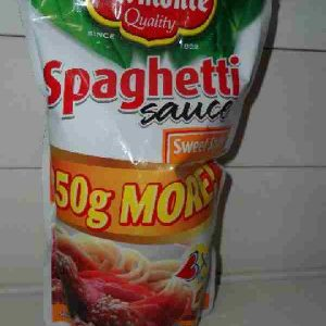 Del Monte brand Spaghetti Sauce  traditional sweet...