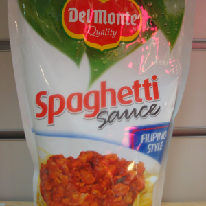 Del Monte Spaghetti Sauce(Filipino Style 560g.New Packaging)