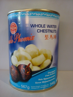 Double Phoenix  Whole Water Chestnuts