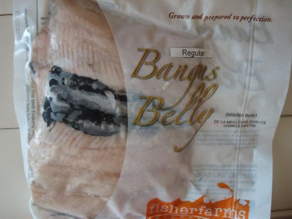 Fisher  Farms brand  Bangus Belly (Milkfish)