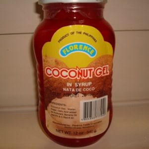 Florence Nata de Coco Red  (Coconut Gel)