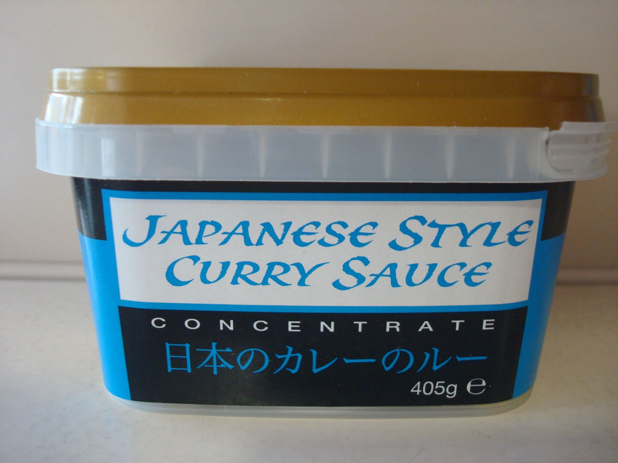 Goldfish Brand Japanese Style Curry Paste