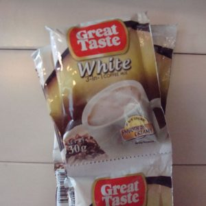 Great Taste White Coffee 3-in-1 NEW 10Sachet Back ...