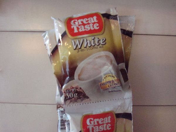 Great Taste White Coffee 3-in-1 NEW 10Sachet Back in Stock