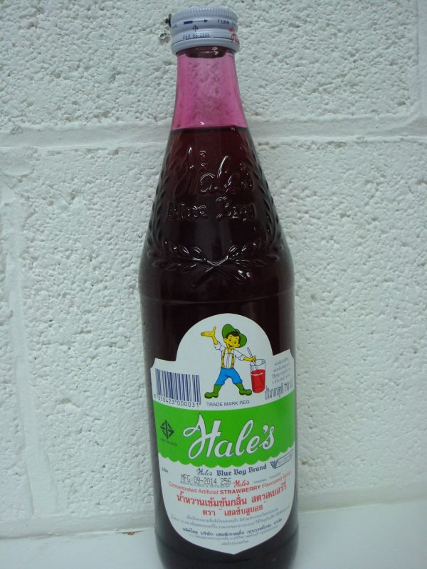 Hale's Boy Liguid Juice Drink Strawberry Flavor NEW 710Ml.