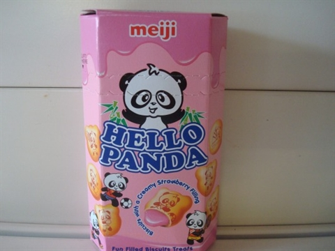 Hello Panda Creamy Strawberry  Filling
