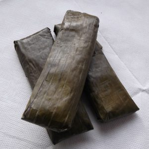 Gina Suman,Steam Sweet Sticky Rice Wrapped with Banana Leaves 6pcs