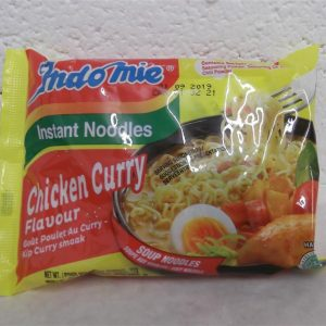 Instant Chicken Curry Flavour Noodles,Indo Mie