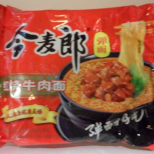 Jinmailang Big Pack Stewed Beef Flavor Noodles