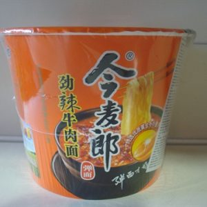 Jinmailang Spicy Beef Flavour Noodles