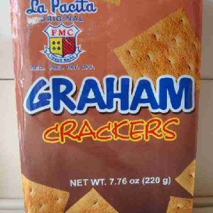 La pacita Graham Crackers. 220g