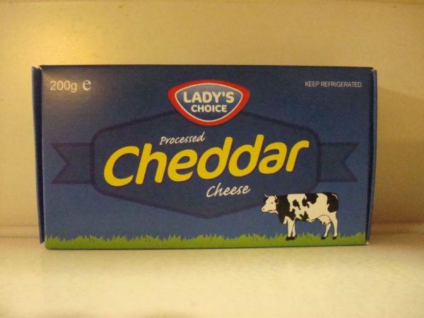 Lady's Choice Cheddar Cheese