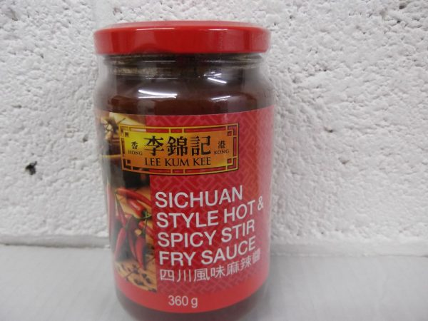Lee Kum Kee Sichuan Style Hot & Spicy Stir Fry Sauce