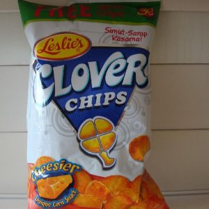 Leslie's Clover Chips Cheese Big (155g....