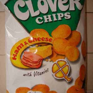 Leslie's Clover Chips(Ham&Cheese)155 g.