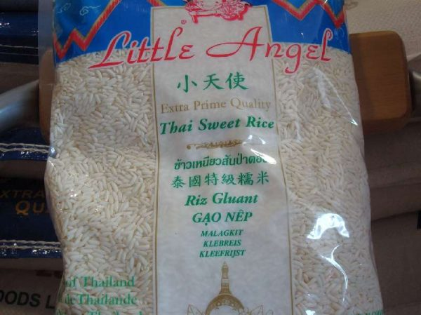 Little Angel Thai Sweet Glutinous Rice (Malagkit) 1kg.