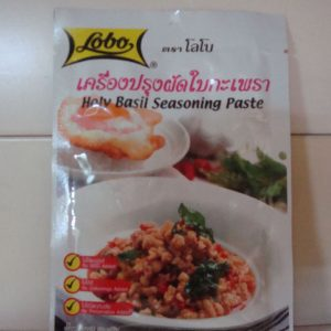 Lobo brand Holy basil Seasoning paste